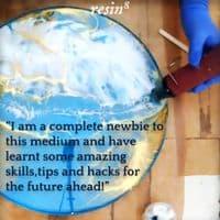 Online Resin Art Adventures Workshop